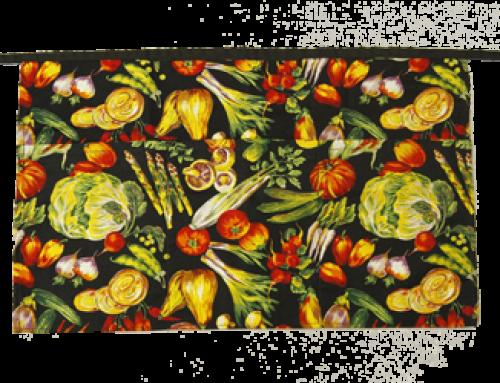 Printed Vegetables 2